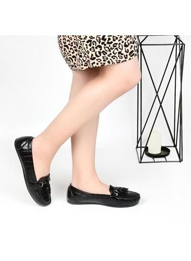 Pandora Ss910 Günlük Bayan Babet Ayakkabı Siyah